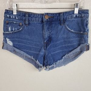 Free People| Rolled  Cut off Short 25